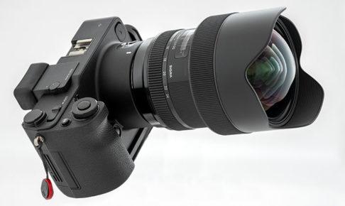 sd Quattroに装着した14-24mm F2.8 DG HSM Art