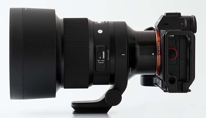 α7R IIIとシグマ105mm Art
