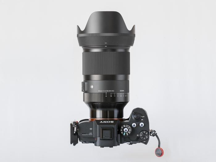 α7R IIIと35mm F1.2 DG DN Art