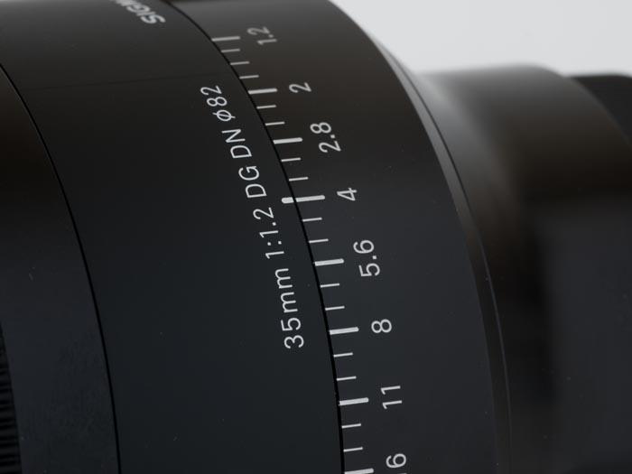 35mm F1.2 DG DN Art