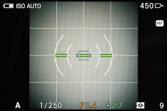 SIGMA fpの撮影画面(1:1)